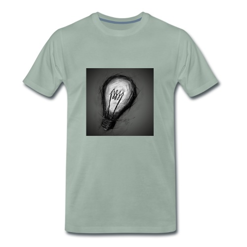 dark bulb - Men's Premium T-Shirt