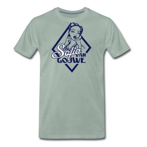 Sofia van Gouwe - Mannen Premium T-shirt