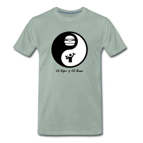 Gym y Ñam - Camiseta premium hombre