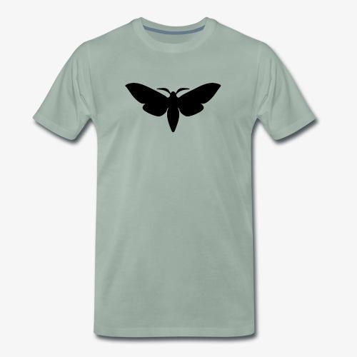 moth_silhouette - Männer Premium T-Shirt