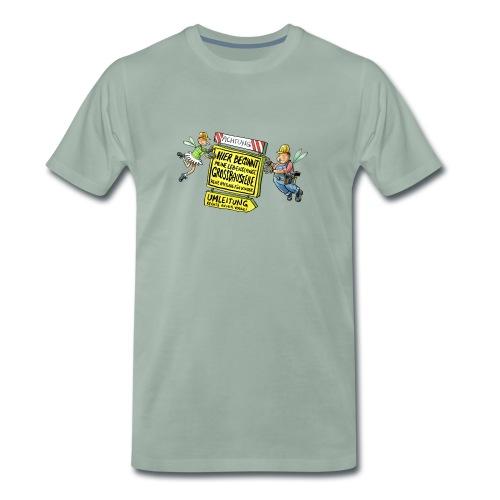 Baustelle - Männer Premium T-Shirt