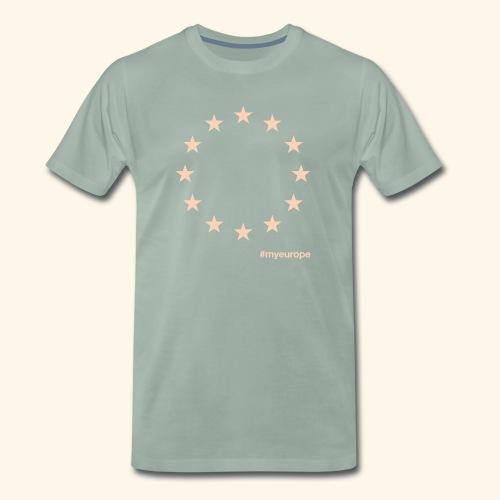 #myeurope salmon - Männer Premium T-Shirt