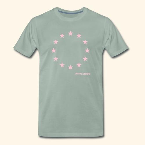 #myeurope rose - Männer Premium T-Shirt