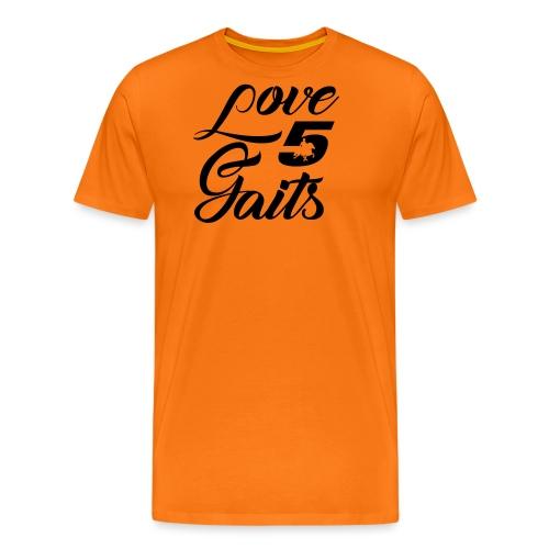 Love 5Gaits - Men's Premium T-Shirt
