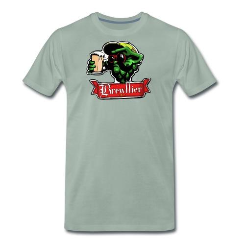 Logo Brasserie Brewffier - T-shirt Premium Homme