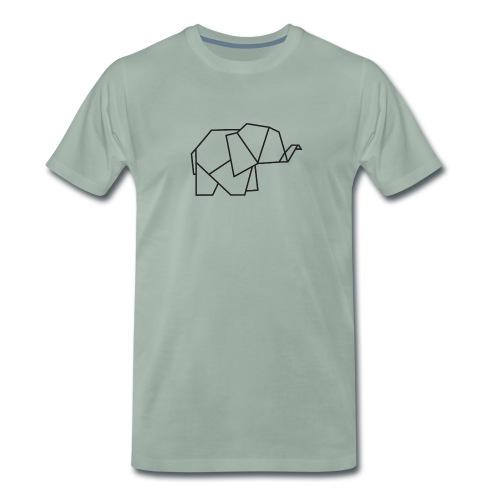 Baby Olifant - Mannen Premium T-shirt