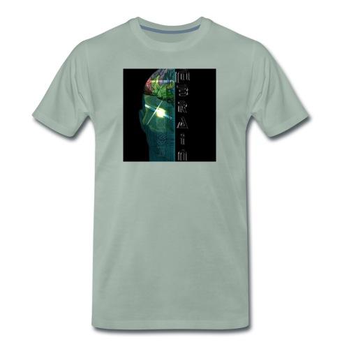 MBRAIN - Maglietta Premium da uomo
