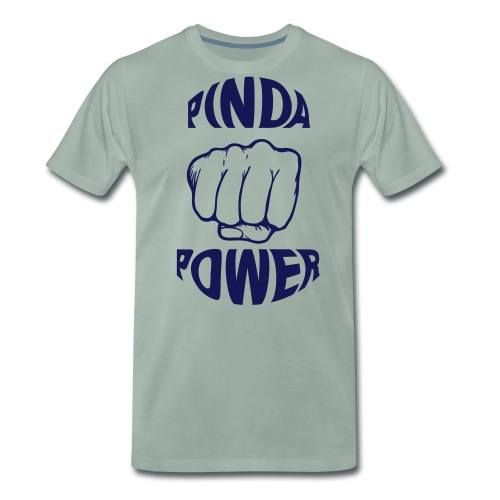 KIDS TSHIRT PINDA POWER - Mannen Premium T-shirt