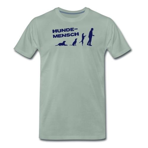 Recycling Stoffbeutel - Hundemensch - Männer Premium T-Shirt