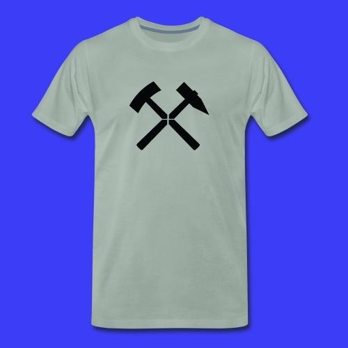 Pałki żelazne - Koszulka męska Premium