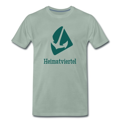 heimatviertel logo2 - Männer Premium T-Shirt