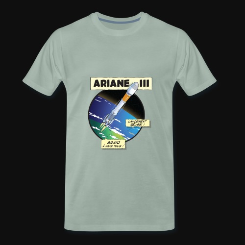 Ariane 3 - Space Objective - Men's Premium T-Shirt