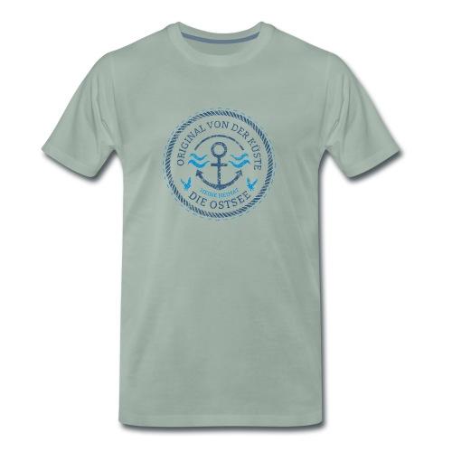 Ich bin ein Original von der Ostsee - Männer Premium T-Shirt