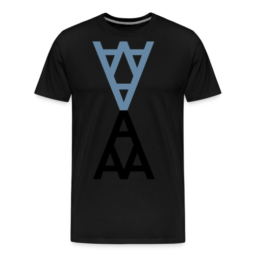 andygrid11 Kopie7 gif - Männer Premium T-Shirt