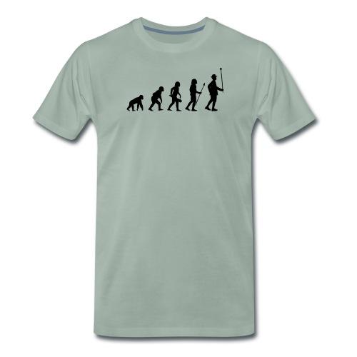 Stabführer Evolution - Männer Premium T-Shirt
