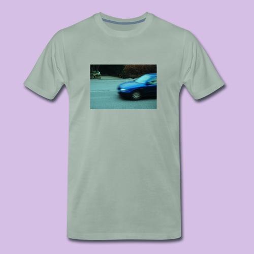 BLUE CAR - Premium-T-shirt herr