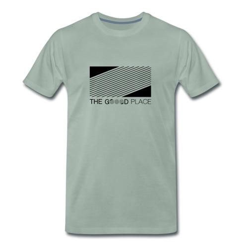THE GOOOD PLACE LOGO - Mannen Premium T-shirt