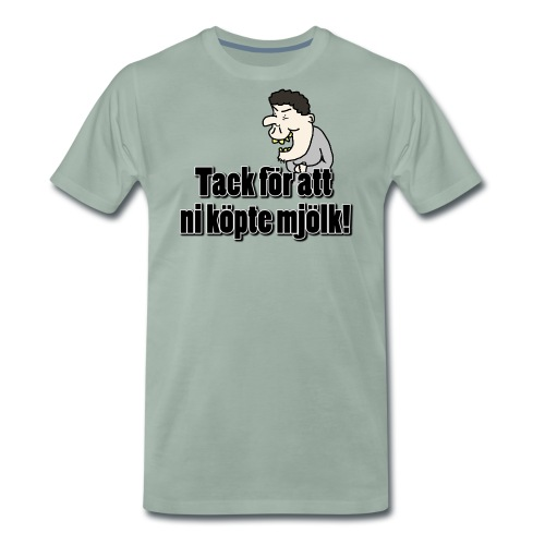 tacktack png - Premium-T-shirt herr
