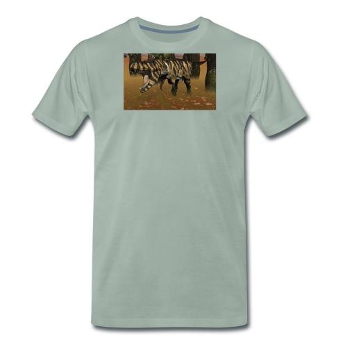 tiger t rex jpg - Men's Premium T-Shirt