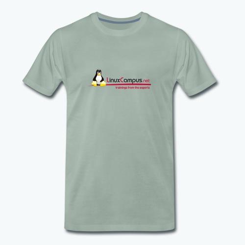 Logo linuxcampus ohneblas - Männer Premium T-Shirt