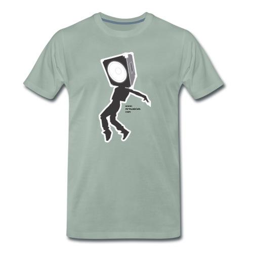 Subwoofer dancing MrMl - Camiseta premium hombre