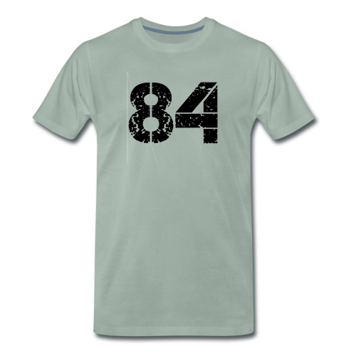 84 vo t gif - Mannen Premium T-shirt