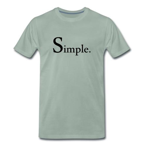 Simple texte - T-shirt Premium Homme
