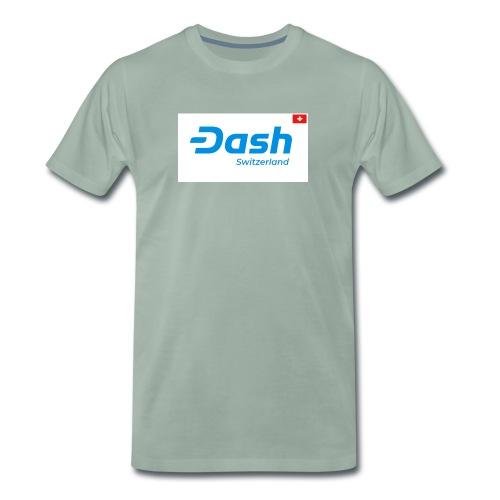 Dash Switzerland - Männer Premium T-Shirt
