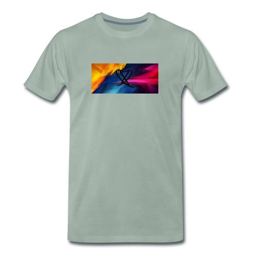 Box_logo_2 - Herre premium T-shirt