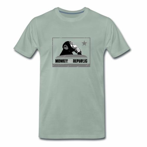 Monkey Surf Republic Flag - Men's Premium T-Shirt