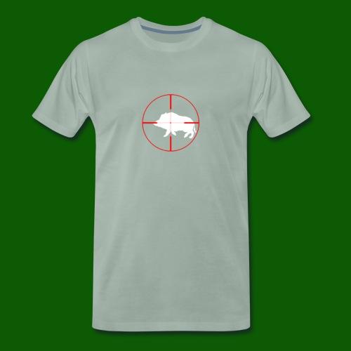 Boar Shooter - Premium-T-shirt herr