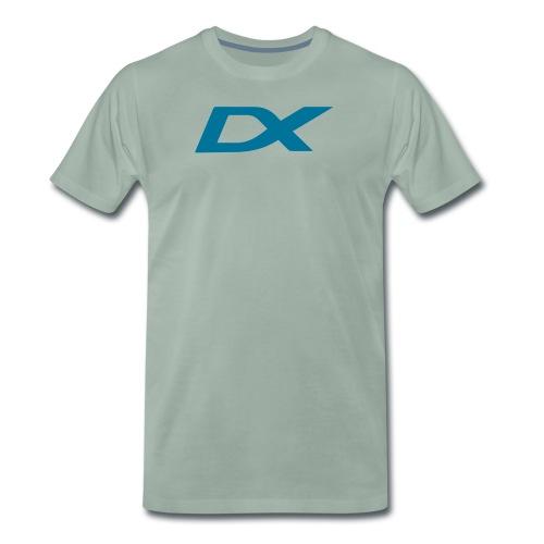 dxlogo - Premium T-skjorte for menn