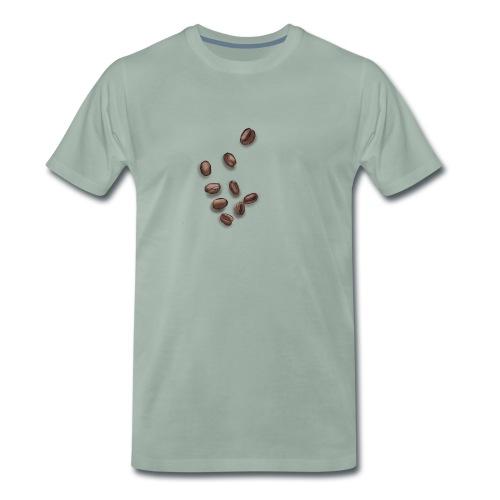 Miłośnik kawy - Ziarna kawy - Koszulka męska Premium