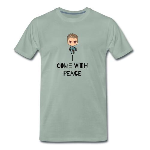 I come in peace - Men's Premium T-Shirt