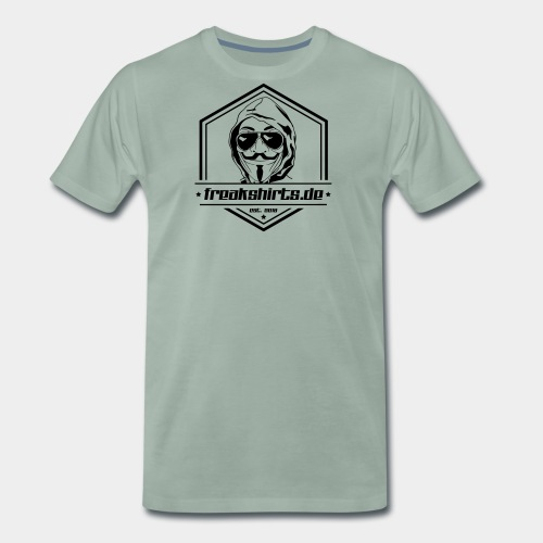 FREAKMUZIK.de (Badge) - Männer Premium T-Shirt