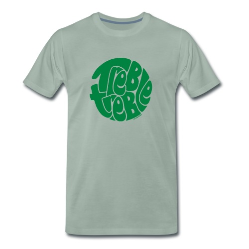 TrebleTreble Green - Men's Premium T-Shirt