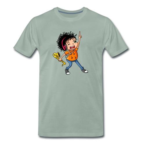 BE Feliz Color - Camiseta premium hombre