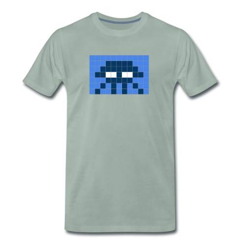 Space Inv Three - Männer Premium T-Shirt