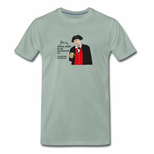 Weinheimer Kerwe 2018 - Männer Premium T-Shirt