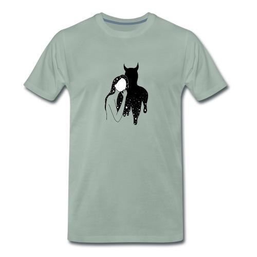 Dance with the Devil - Men's Premium T-Shirt