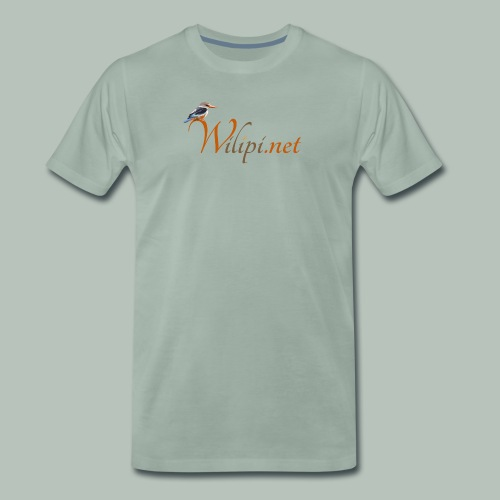 logo wilipi - T-shirt Premium Homme