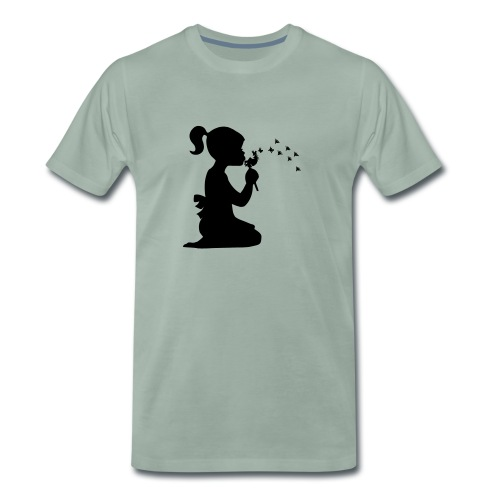 Koszulka blowing - Maglietta Premium da uomo