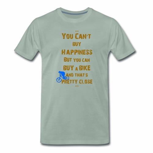 Happiness for Biker - Männer Premium T-Shirt