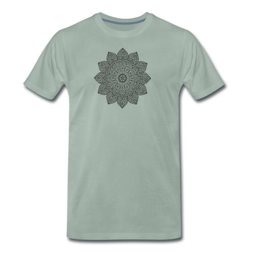Mandala geometria sacra geometric - Maglietta Premium da uomo