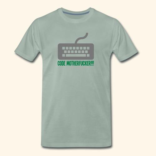 Code Motherfucker - Premium-T-shirt herr
