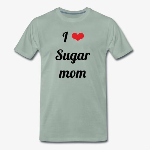 Y ❤️ Sugar Mom - Camiseta premium hombre