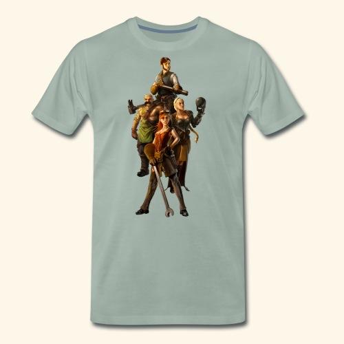Faction Leader Artwork - Men's Premium T-Shirt