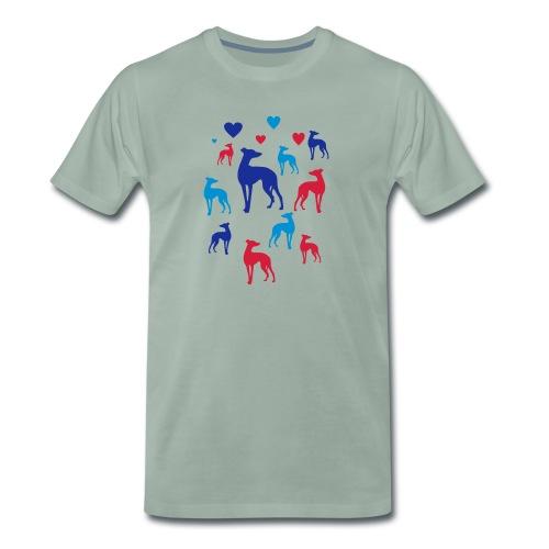 levrier love - T-shirt Premium Homme