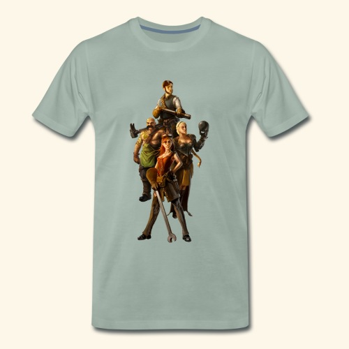 Faction Leader Artwork - Men's Premium T-Shirt