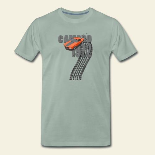 1972 camaro dark - Herre premium T-shirt